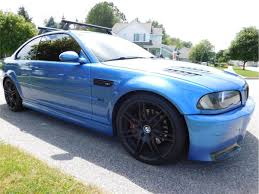 Bmw M3 Blue - 2002 bmw m3 e46 coupe individual estoril blue 15k in aftermarket