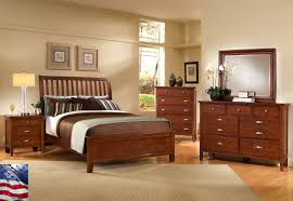 Solid Wood Bedroom Furniture Bedroom Stunning Bedroom Decorating Design Ideas With Light Brown