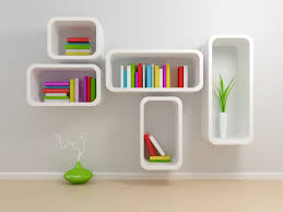Wall Mounted Book Shelves by Furniture Modern Creative Wall Mounted Book Shelves Designs