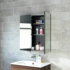 Corner Bathroom Mirror Bathroom Mirror With Cabinet Brilliant Mirror Bathroom Cabinets