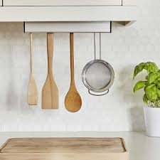 umbra under cabinet utensil holder in kitchen utensil holders