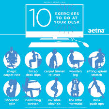 10 Exercises To Do At Your Desk Pictures Photos And Images For