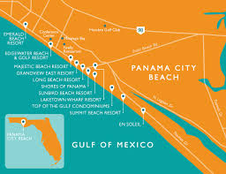 map of panama city panama city vacation rentals resort collection