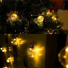copper globe string lights le g45 led globe string lights led bulbs 20ft water resistant
