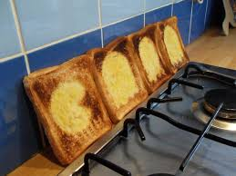 Toasting Bread Without A Toaster Toast Stencils 6 Steps With Pictures