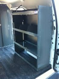 Shelves For Vans by Van Minivan Suvs Aluminum Ladder Racks Van Shelving