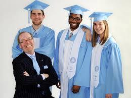 graduation gown julian s true blue of carolina