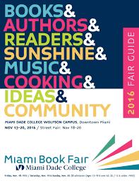 Miami Dade North Campus Map by 2016 Miami Book Fair Guide By Miami Book Fair Issuu
