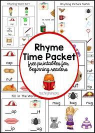 worksheet preschool rhyming words wosenly free worksheet