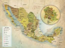 Mexico Airport Map by Mexico About Etc