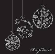 snowflake ornaments christmas snowflake ornaments vector free vector 4vector