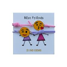 friends emoji kids bracelets zomi gems