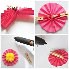 arty s getaway diy paper crafts easy breezy mini paper fans how to