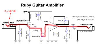 Transformer Coupled Transistor Amplifier Schematic How The Ruby Works