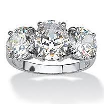 zirconia stone rings images Cubic zirconia in silver
