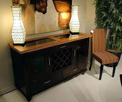 Mirror Over Dining Room Table - dining room table and buffet sets furniture modern black server