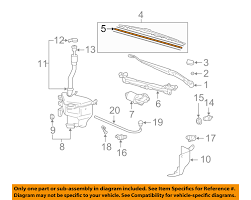 lexus toyota parts cross reference toyota oem wiper windshield blade assembly refill 8521424051 ebay
