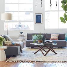 Grey Sofa Sectional by Tillary 2 Sofa Sectional West Elm