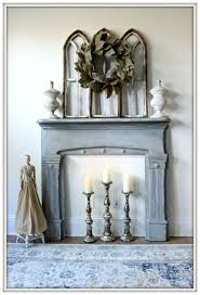 Vintage Fireplace Mantels From My Front Porch To Yours Vintage Fireplace Mantel Makeover With
