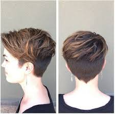 pictures of back of hair short bobs with bangs swept back brown crop shaved short haircut for thick hair make