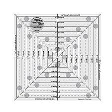 amazon com quilting template and ruler 14 5 inch square it up