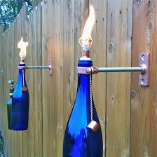 Outdoor Gas Torch Lighting Hanging Oil Lamps Tiki Torches U0026 Wall Vases By Greatbottlesoffire