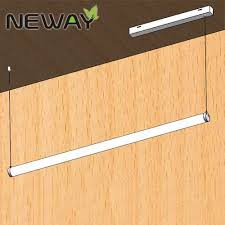 led linear tube lights hanging dia 40mm 1200mm 20w 30w 360deg linear led tube light strips