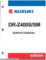 2005 2011 suzuki dr z400sm supermoto 2000 2011 dr z400s paper
