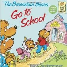 berestein bears the berenstain bears go to school just books read aloud