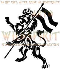 rampant lion of judah tattoo by wildspiritwolf on deviantart