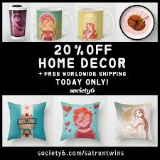 Home Decoration Sale Sarah U0027s Sketchbook Society6 Sale On Home Decor