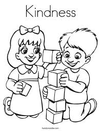 coloring pages on kindness kindness coloring page twisty noodle