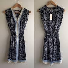 max studio 32 max studio dresses skirts max studio blue and white