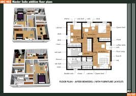 Home Addition Floor Plans by Master Bedroom Addition Plans