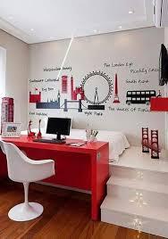 bureau dans chambre une chambre ado fille avec bureau encastré