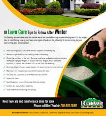 10 lawn care tips to follow after winter bestyard com