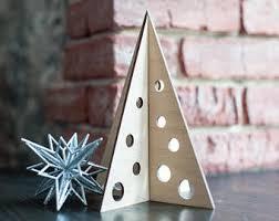 wooden tree diy ornaments decorations