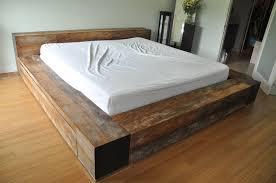 pallet bedroom set bed frame for sale white fur rug open wall