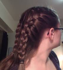 hair braided into pony tail french braid into ponytail obsessed with pinterest