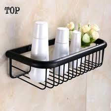 Black Bathroom Shelves Black Bathroom Shelves Antique Brass Whole Black Bathroom Shelf