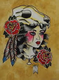 wolf skull headdress traditional flash print 8 5 x