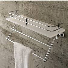 Bathroom Glass Shelves With Towel Bar Book Of Bathroom Shelves With Towel Bar In Us By Emily Eyagci
