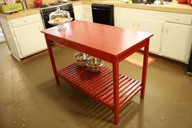 easy kitchen island a simple kitchen island for about 25 great accent that can