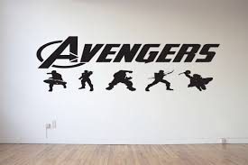 wall decals avengers color walls your house