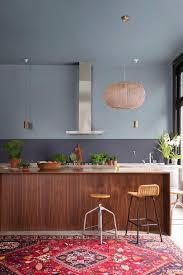peinture credence cuisine peinture dulux bleu gris la couleur de l ée