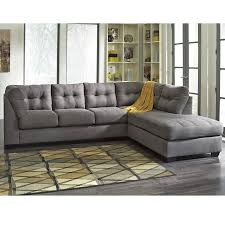 maier charcoal 2 piece sectional sectionals living room
