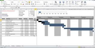 Free Excel Gantt Chart Template Sle Chart Templates Office Gantt Chart Template Free Charts