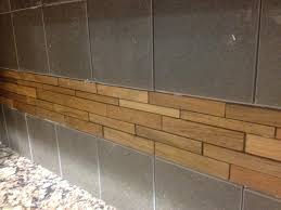 example of pencil tile accent riverside kitchen pinterest