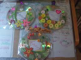 faith u0027s quilling quilled cd wall hangings