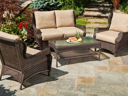 Outdoor Patio Decor by Patio 30 Rattan Outdoor Furniture Of Sofa Set With Living